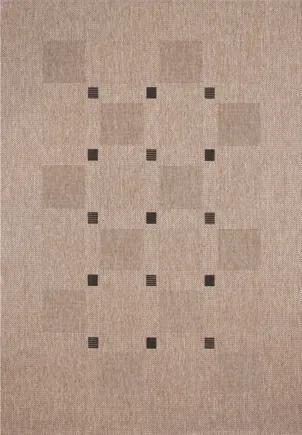 Devos koberce AKCE: 80x150 cm Kusový koberec FLOORLUX Silver/Black 20079 Spoltex - 80x150 cm