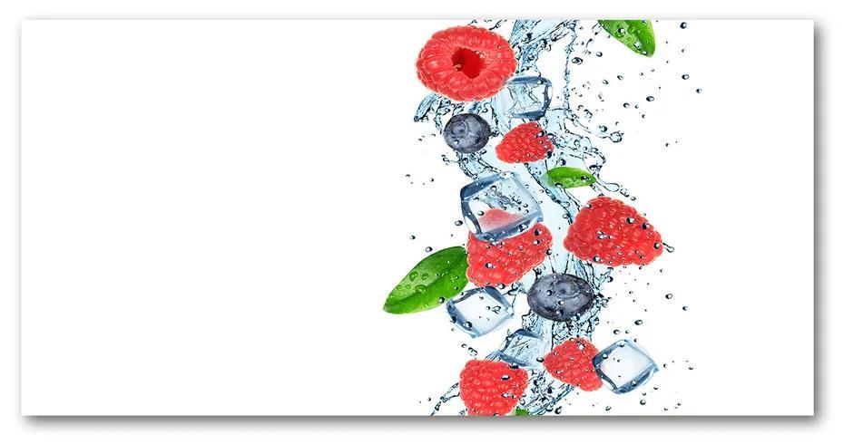 Moderný akrylový fotoobraz Lesné ovocie s ľadom pl-oa-140x70-f-66266127