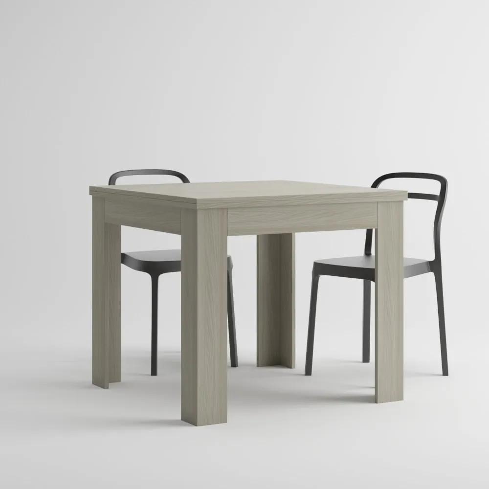 Rozkladací jedálenský stôl v dekore brestu MobiliFiver Eldorado, dĺžka 90-180cm