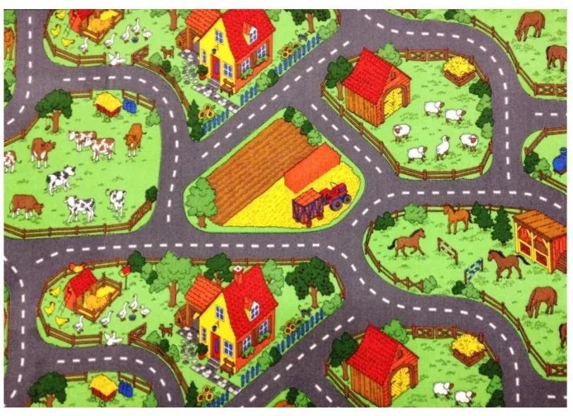 Vopi koberce Kusový koberec Farma II. - 80x120 cm