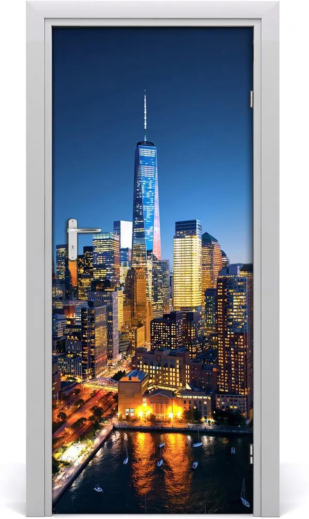 Fototapeta samolepící na dveře New york město