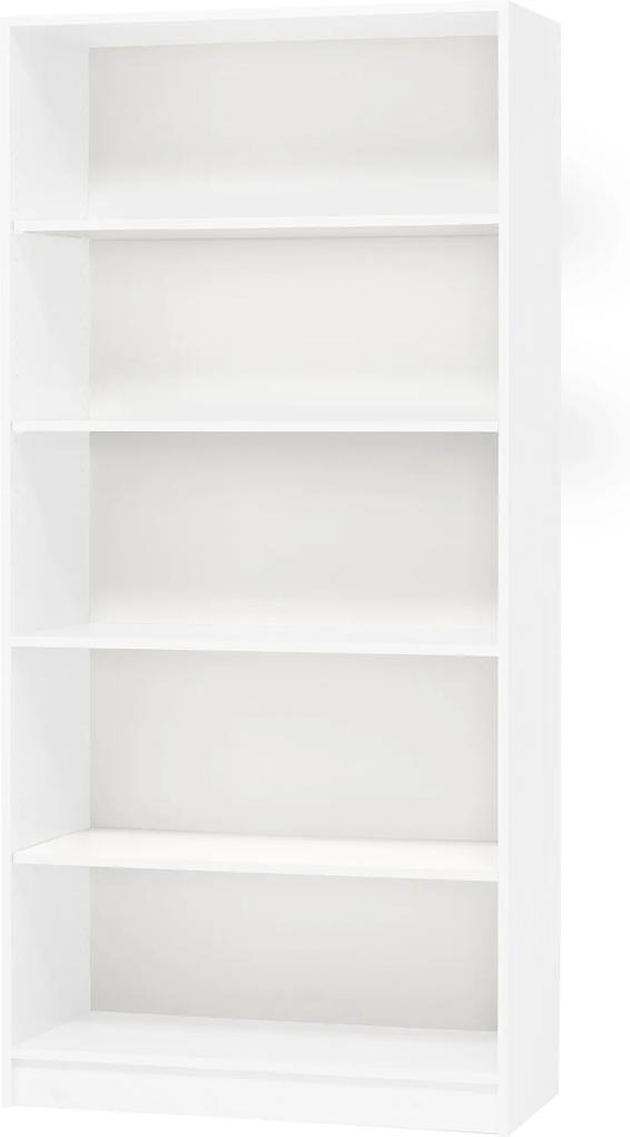 Knižnica 2100x1000x300 mm, biela