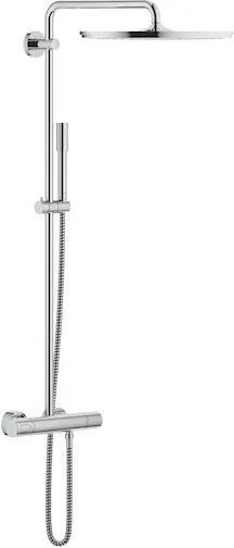 Sprchový systém Grohe Rainshower System s termostatickou batériou chróm 27174001