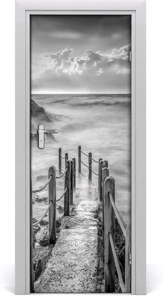 Fototapeta na dveře samolepící Stezka nad mořem