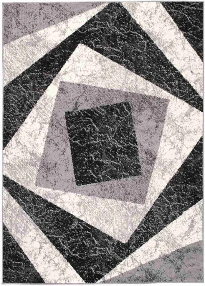 Kusový koberec PP Gil šedý, Velikosti 80x150cm
