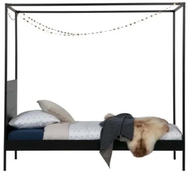 Dani posteľ s baldachýnom 90x200