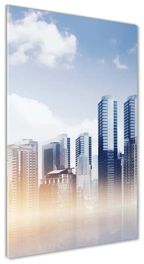 Foto obraz akryl do obývačky Mrakodrapy pl-oa-70x140-f-136133986