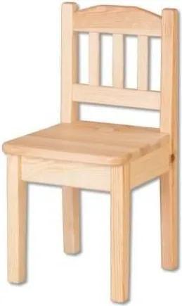 Drevobox Drevená detská stolička