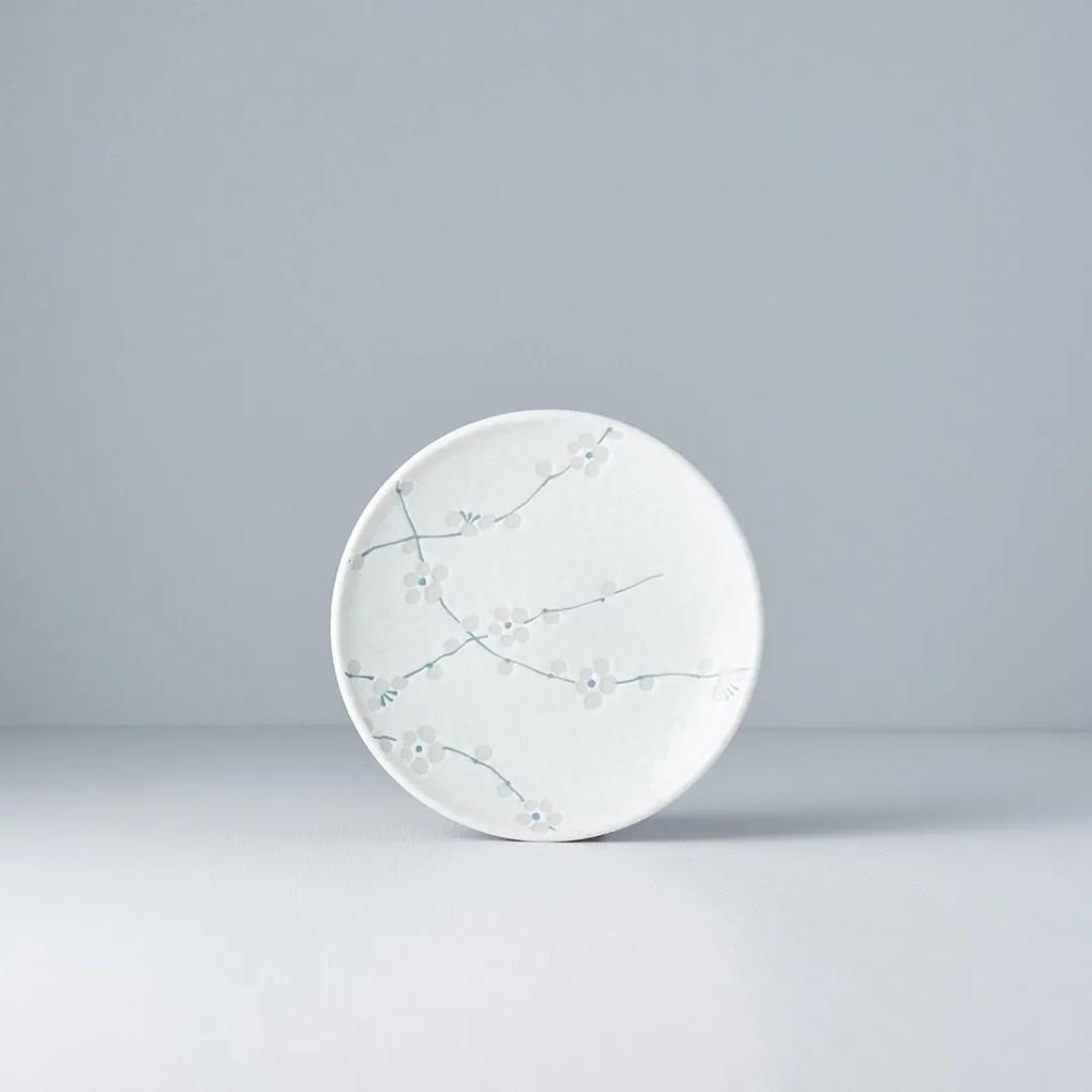MADE IN JAPAN Sada 2 ks: Predkrmový tanier White Blossom 17 cm