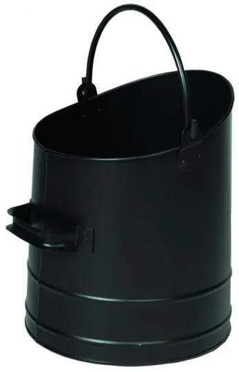 Nádoba na uhlie Lienbacher - čierná