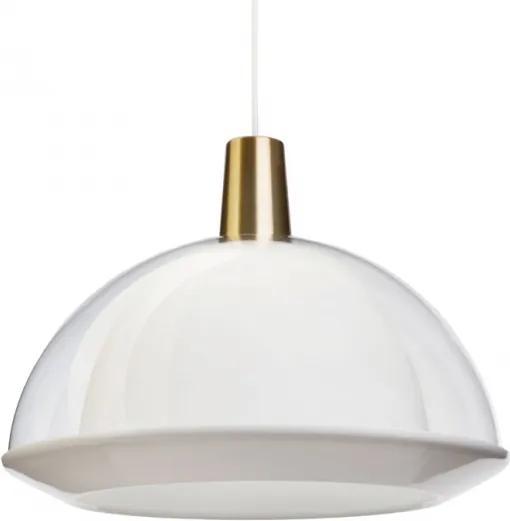 Závesná lampa Kuplat 400, číra Innolux