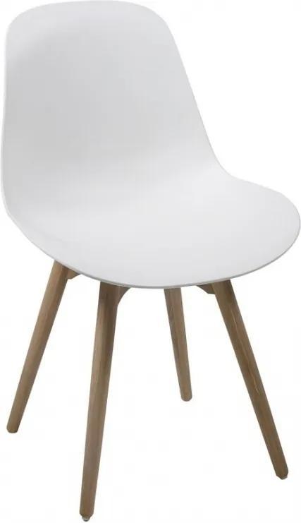 Jídelní židle Shale, bílá SCHDN0000052770 SCANDI