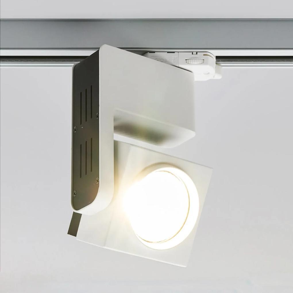 3-fázové prípojnicové svetlo Jamie s LED