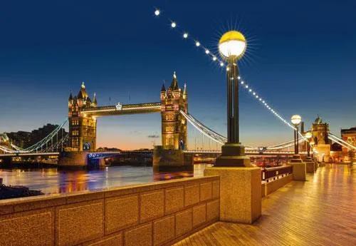 Fototapety, rozmer 368 x 254 cm, Tower Bridge, Komar 8-927