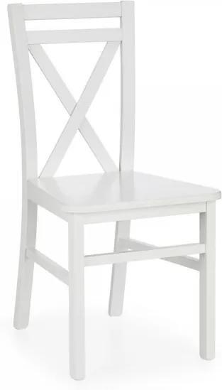 Jedálenská stolička Sirius biela