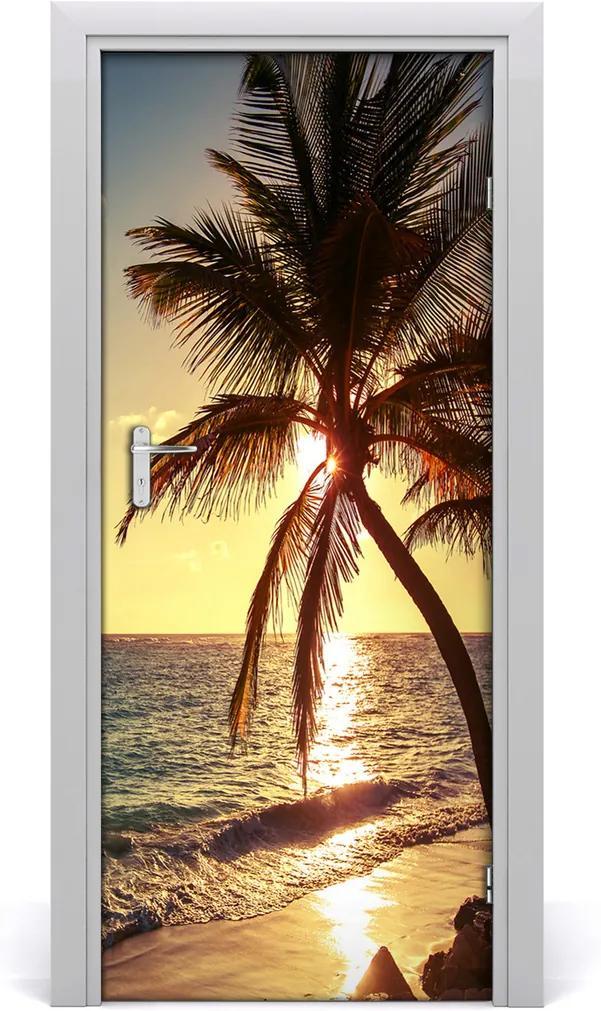 Fototapeta na dvere  tropická pláž