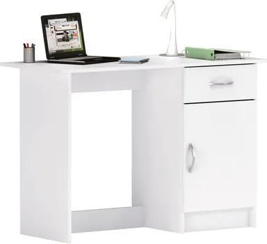 OVN písací stôl IDN 1126 biely