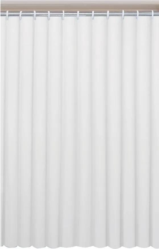 Aqualine 0201004 B sprchový záves 180x200cm, vinyl, biely