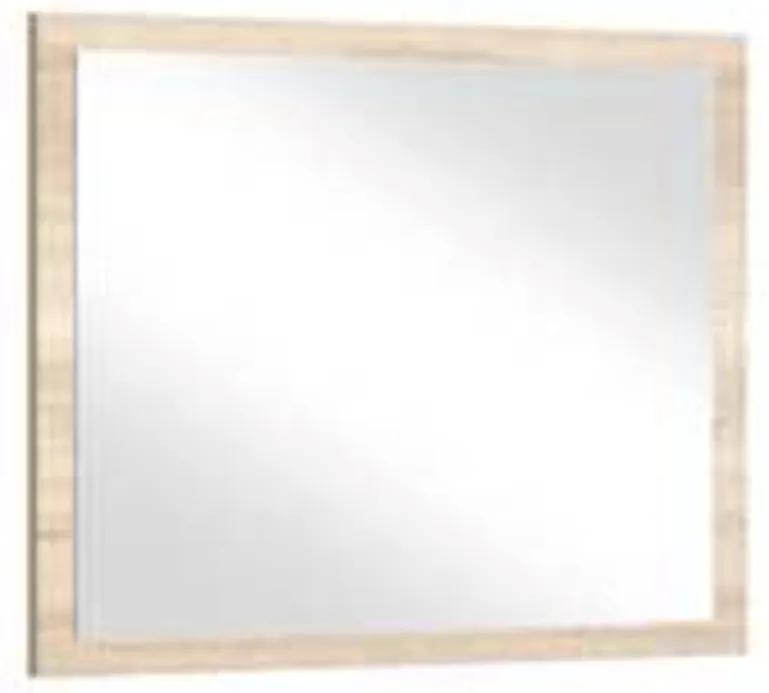 TEMPO KONDELA Bafra zrkadlo na stenu dub artisan