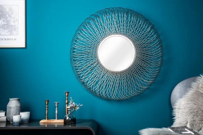 Zrkadlo Infinity Home L strieborné