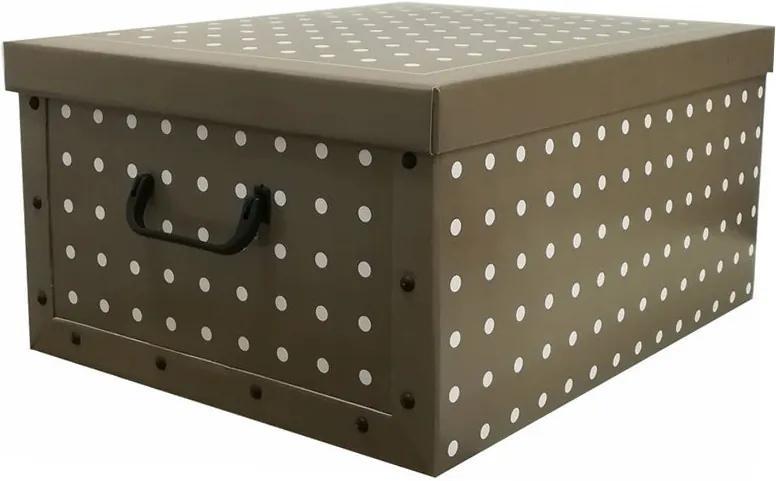 Skladacia úložná krabica Rivoli béžová
