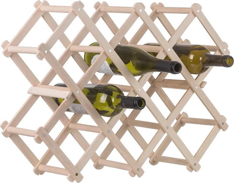 Drevobox Drevený stojan na víno
