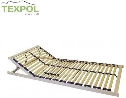 Kvalitný polohovateľný rošt OPTIMAL H 5V 195 x 85 cm