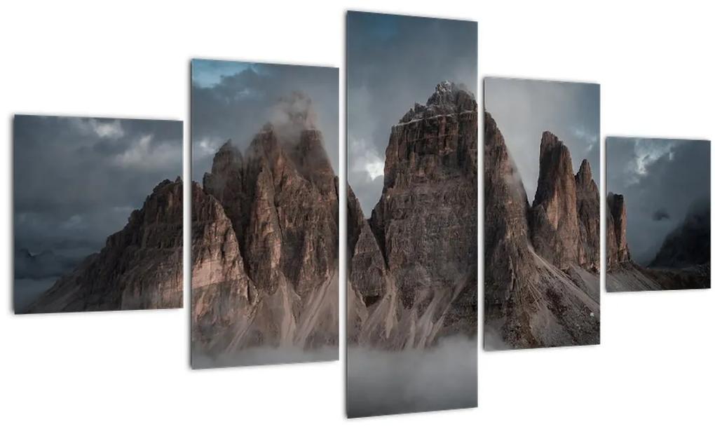 Obraz - Tri Zuby, Talianske Dolomity (125x70 cm), 40 ďalších rozmerov
