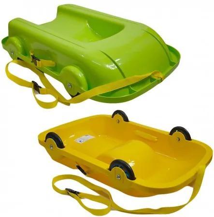 6550 DR Boby & vozík 2v1 Zelená