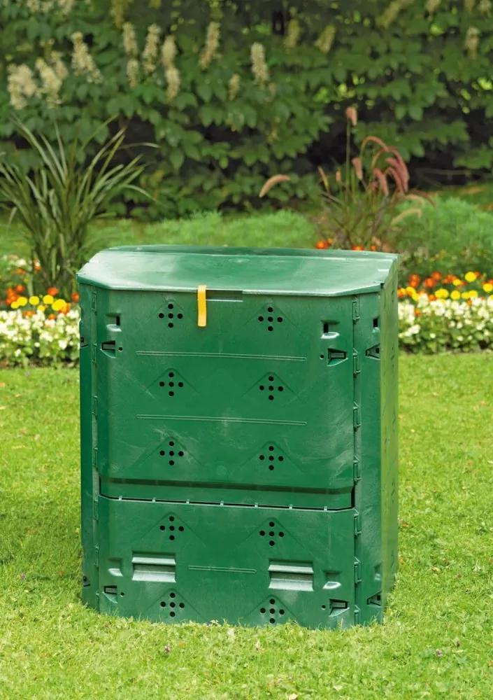 Kompostér 400l recyklovaný plast Dekorhome