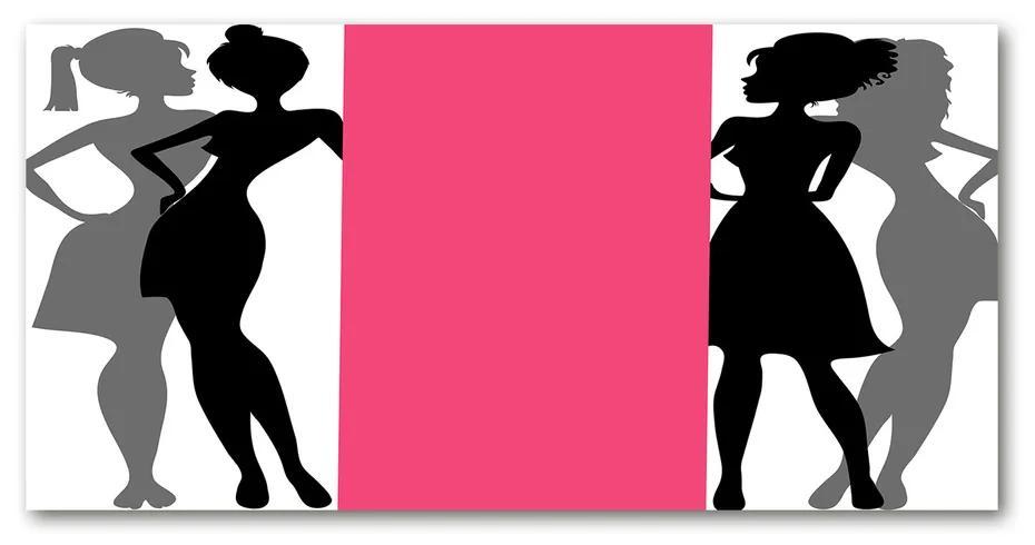 Foto obraz akrylový Postavy žien pl-oa-140x70-f-67460757