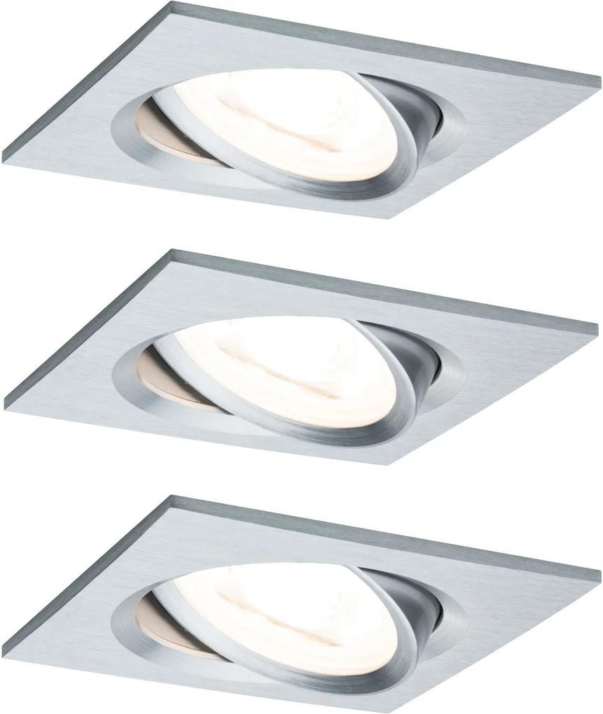 Zápustné - podhľadové svietidlo PAULMANN LED NOVA GU10 3KS 93438