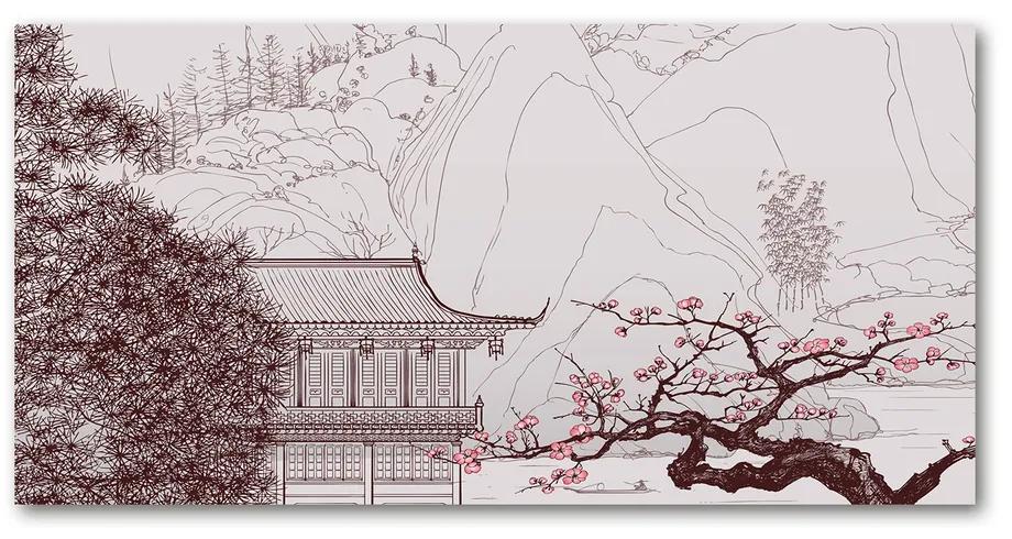 Foto obraz akrylové sklo Čínske krajiny pl-oa-140x70-f-33354243