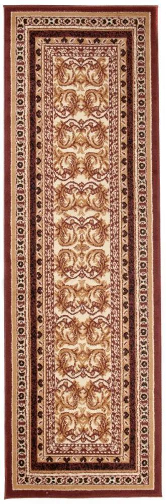 Kusový koberec PP Aslan hnedý atyp, Velikosti 100x250cm