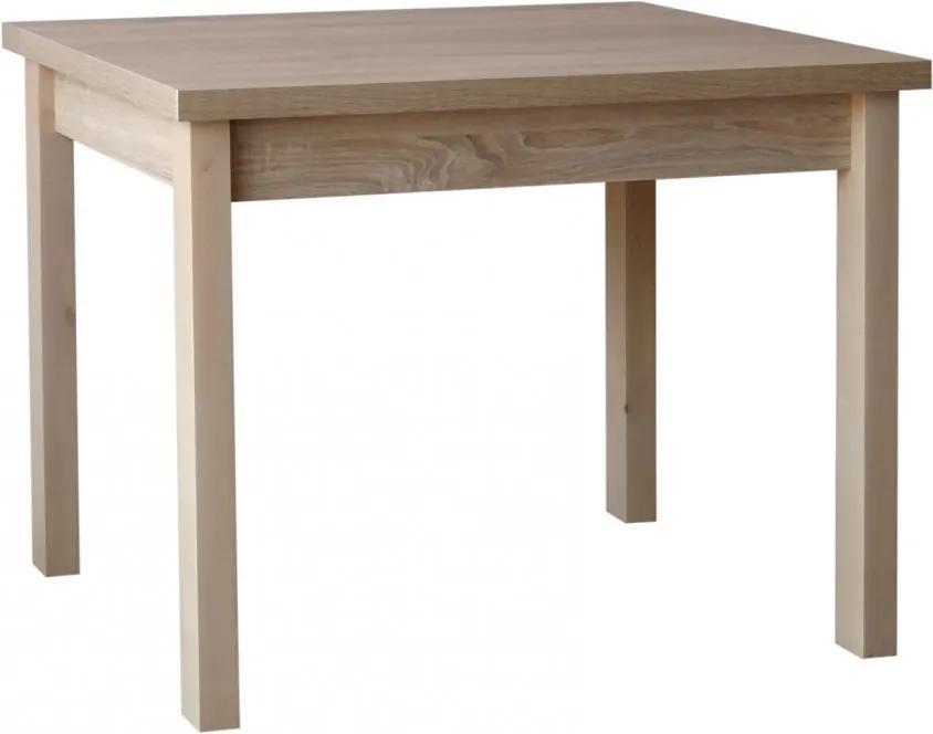 Jedálenský stôl 120 x 70 cm - výber dekorov - - Černá struktura