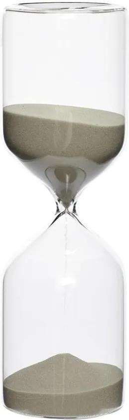 Presýpacie hodiny s béžovým pieskom Hübsch Margie, 60 minút