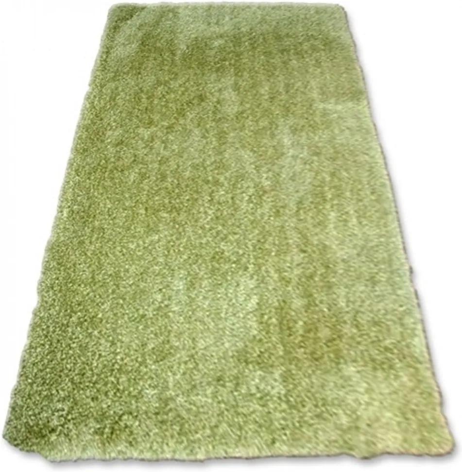 Luxusný kusový koberec Shaggy Macho zelený, Velikosti 140x190cm
