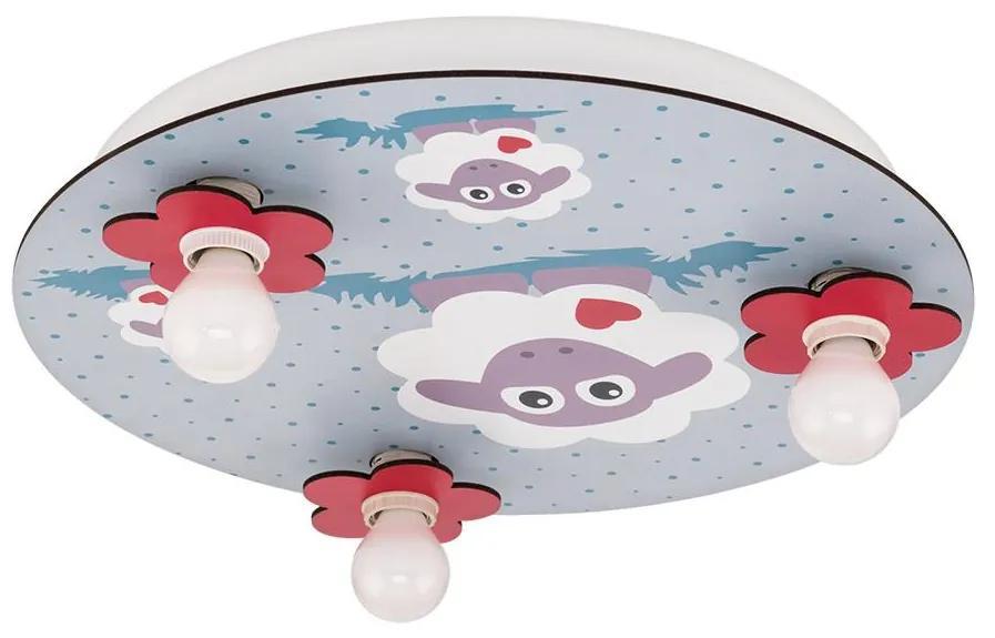 Eglo Eglo 97705 - Detské stropné svietidlo LALELU 3xE14/40W/230V EG97705