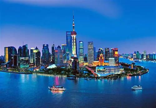 Fototapety, rozmer 366 x 254 cm, Shanghai Skyline, W+G 135