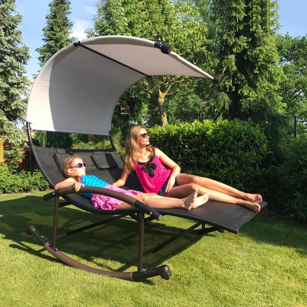 Relaxačné lehátko - hojdačka pre 2 osoby Avenberg PENELOPE