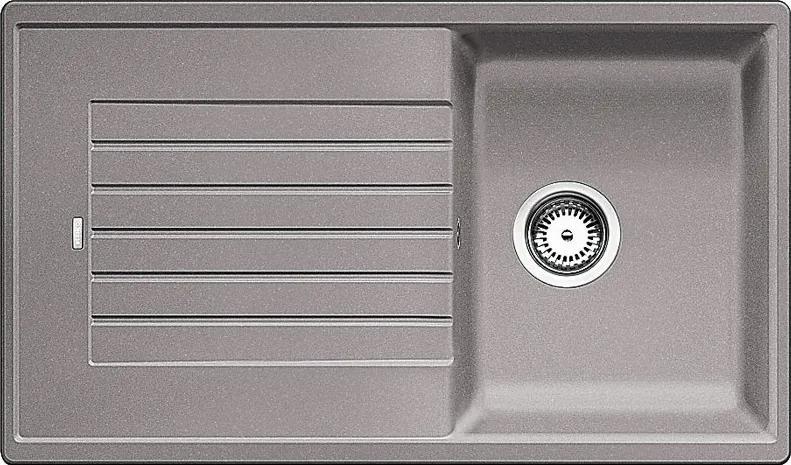 Granitový kuchynský drez - Blanco Zia 45 SL aluminium 516739