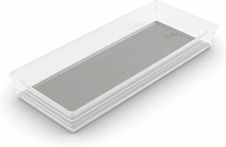KIS Úložný box SISTEMO 8 - 37,5x15x5cm šedý