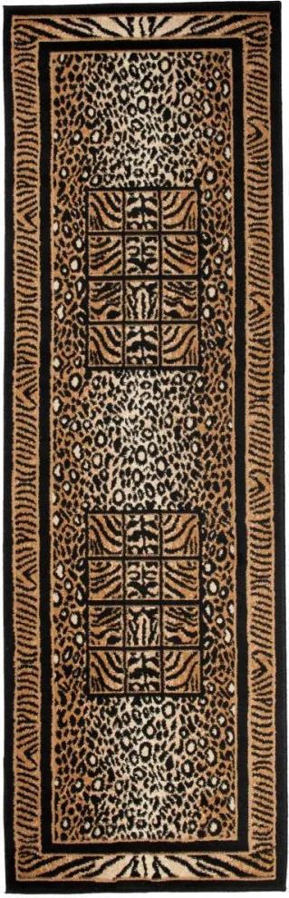 Kusový koberec PP Beast béžový atyp, Velikosti 70x300cm