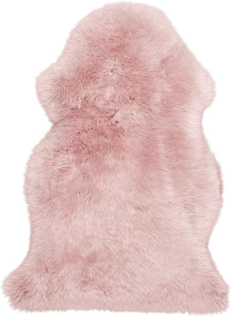 Obsession koberce Kusový koberec Premium Sheep 100 Rosa - 55x85 tvar kožešiny cm