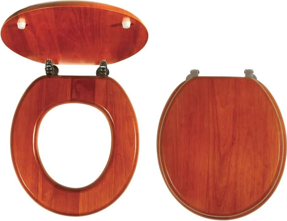 Novaservis WC/DUBLYRA sedátko na WC dýhované drevo