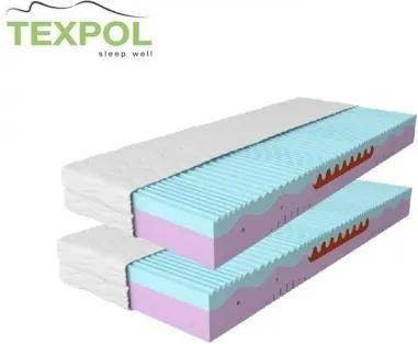 Ortopedický pamäťový matrac MEMO PLUS 1+1 195 x 80 cm Trimtex