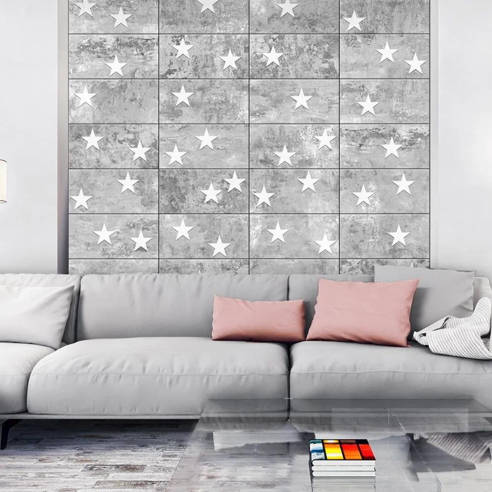 Fototapeta - Stars On Concrete 50x1000