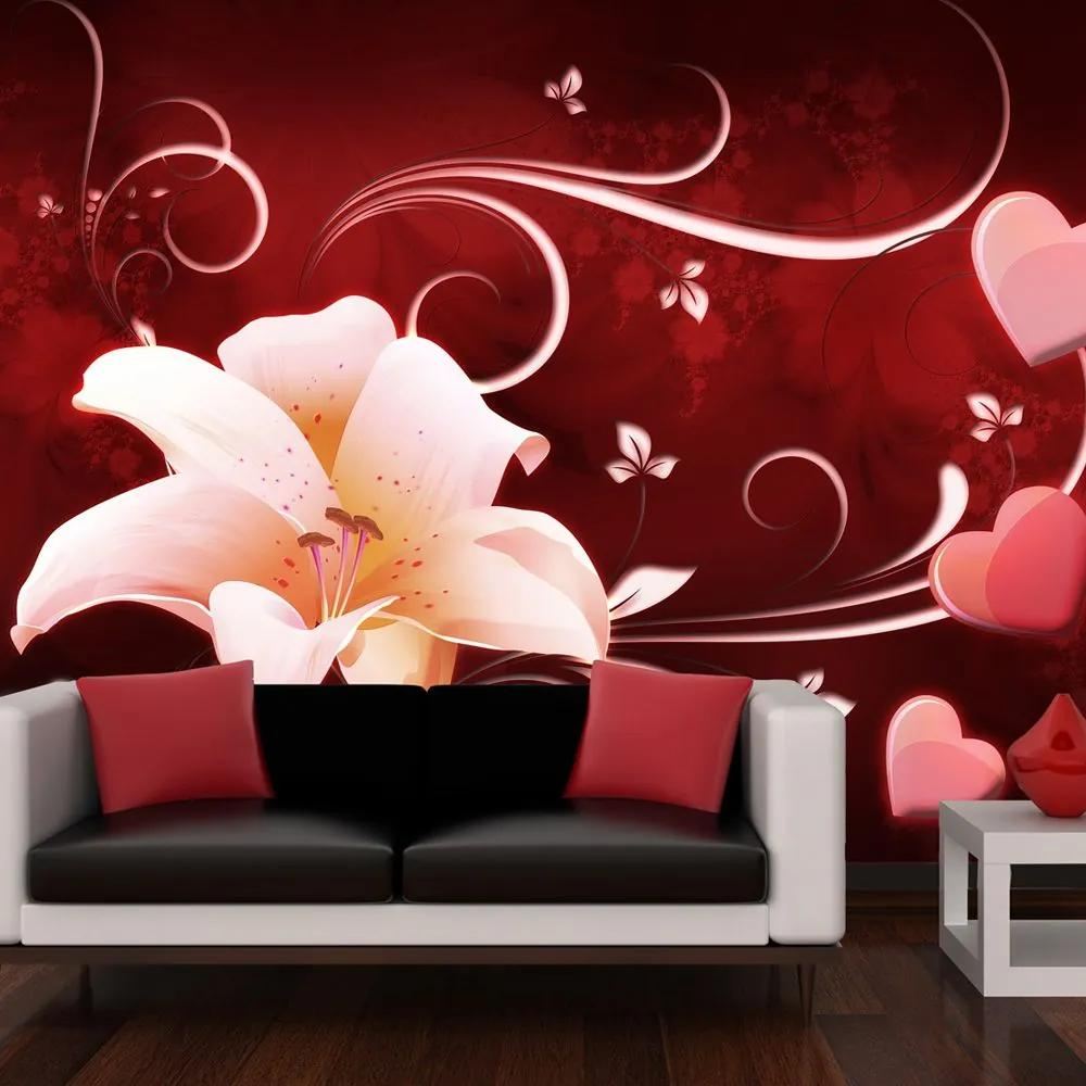 Fototapeta - Love message 200x154