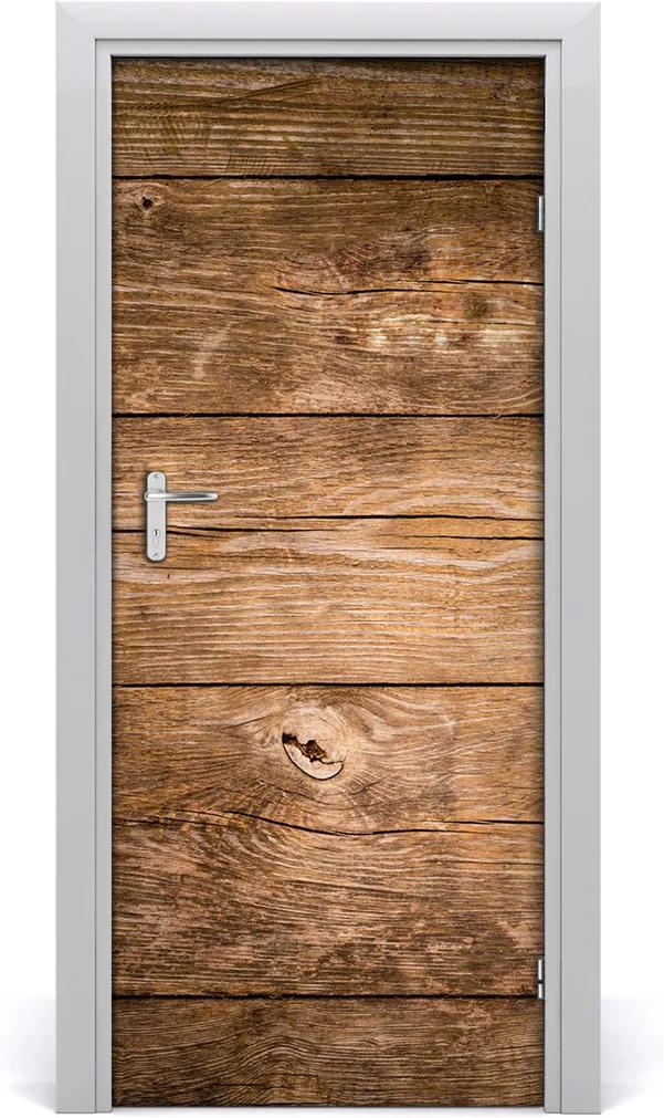 Fototapeta na dveře Dřevěné pozadí