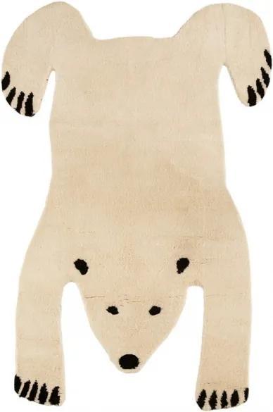 Koberec Polar Bear, luxusná vlna, Rozmery  140x200 cm Mum's